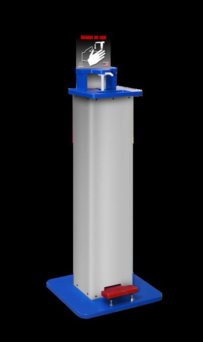 Hands-Free Sanitizer Station - Base Model